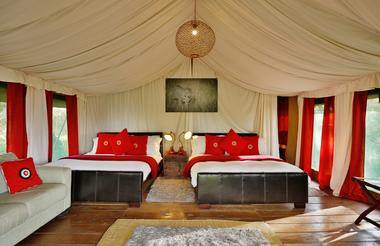 Twin Tented Suites