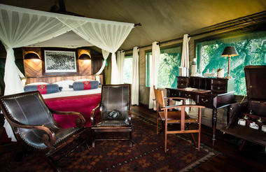 Selinda Camp Tent Interior